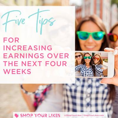 tips for increasing earnings on shopyourlikes